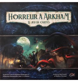 Fantasy Flight Games Horreur à Arkham - Le jeu de cartes (FR)