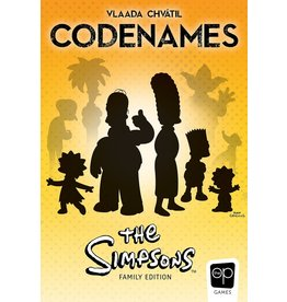 Czech Games Codenames Simpsons (EN)