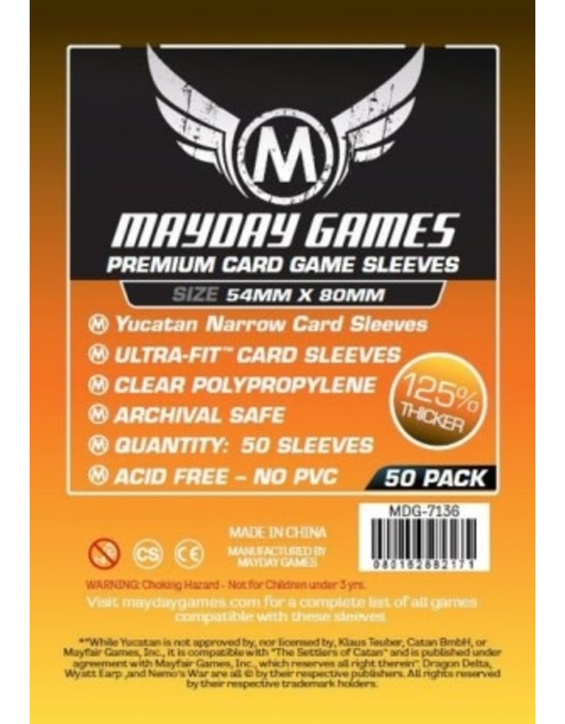 Mayday Games MDG7136 sleeve Yucatan 54mm X 80mm 50pack