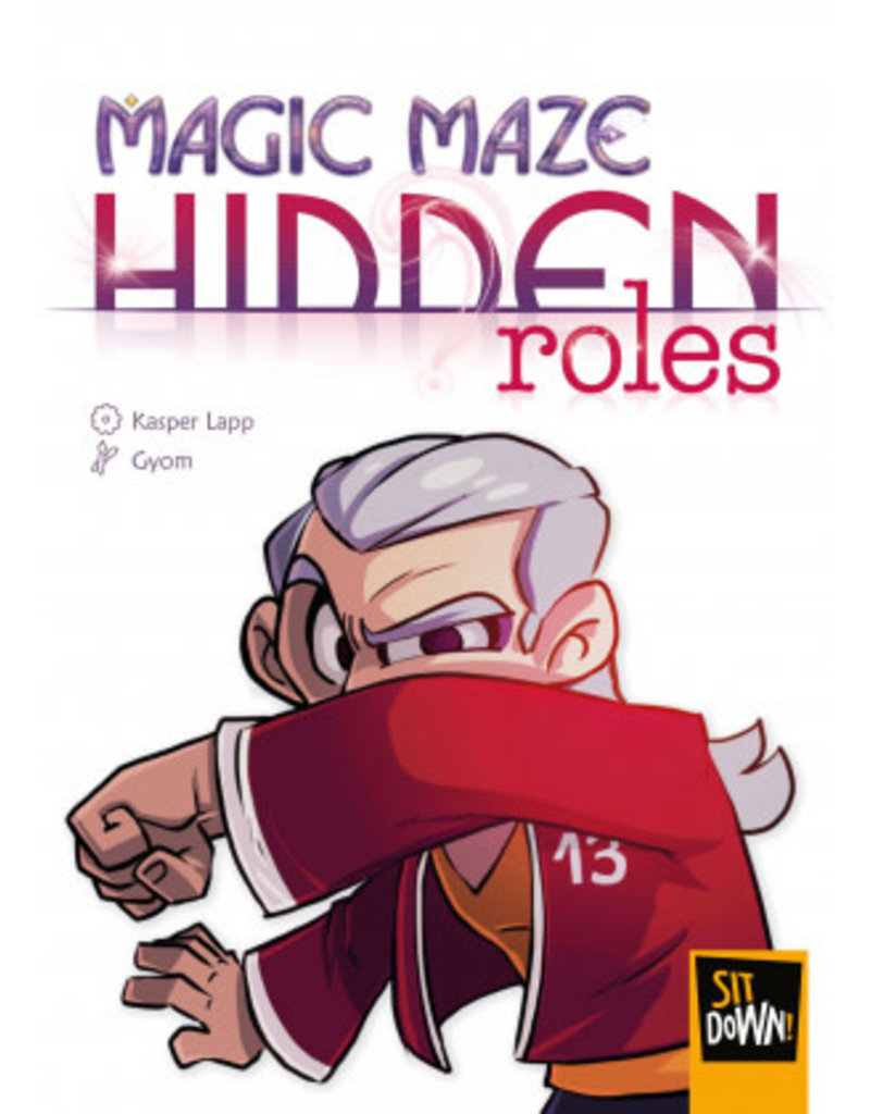 Sit Down! Magic Maze: Hidden Roles (FR)