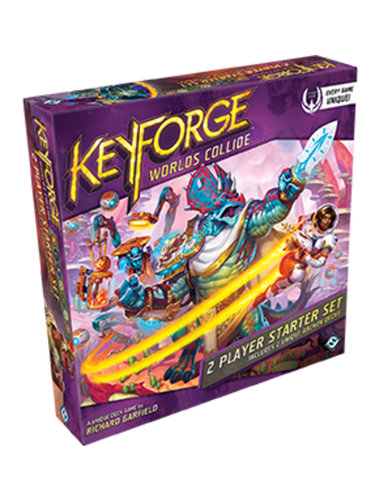 Fantasy Flight Games Keyforge - Worlds Collide - 2-player Starter Set