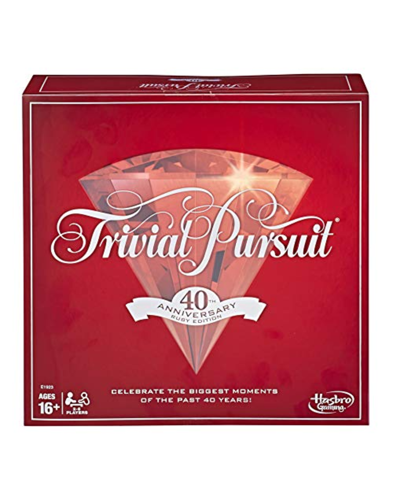 Hasbro Trivial Pursuit 40th Anniversary Ruby Edition (EN)