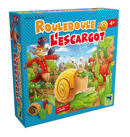Matagot jeu board game Rouleboule l'escargot