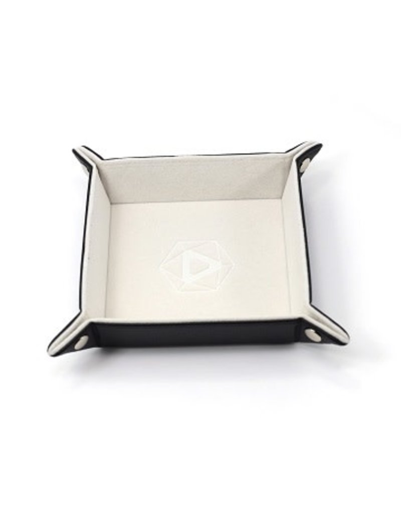 Die Hard Folding Square Tray w/ Cream Velvet