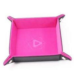 Die Hard Die Hard Folding Square Tray w/ Pink Velvet