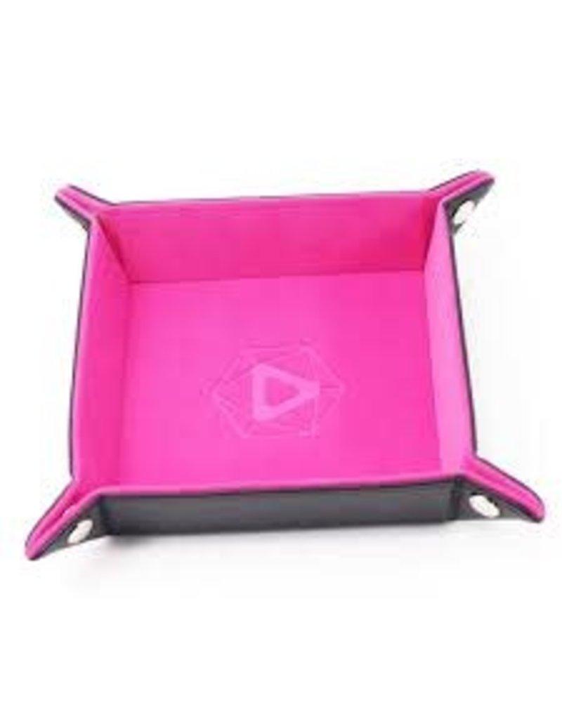 Die Hard Folding Square Tray w/ Pink Velvet