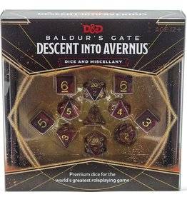 D&D - Baldur's Gate Descent Into Avernus Dice & Misc