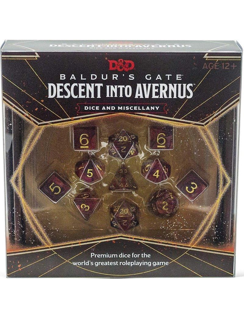 Wizards of the Coast D&D - Baldur's Gate Descent Into Avernus Dice & Misc
