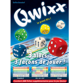 Gigamic Recharge Qwixx - Le grand mix (240 fiches)