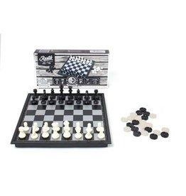 Family Games Jeu d'échecs & Dames magnétique