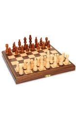 "Wood Expressions Chess 11"" Wood Magnetic Folding (No Amazon Sales)"
