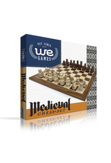 """Wood Expressions Chess 15"""" Medieval Brown"""