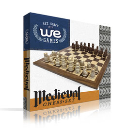 "Wood Expressions Chess 15"" Medieval Brown"