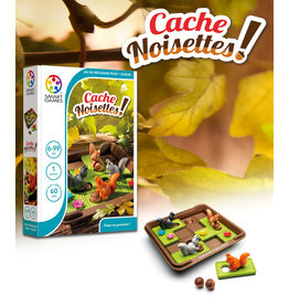 Smart Games jeux board games Cache Noisettes