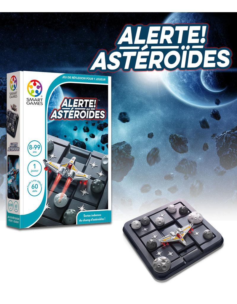 Smart Games jeux board games Alerte! Asteroides
