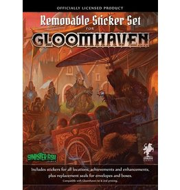Cephalofair Games Gloomhaven Removable Sticker Set PRÉCOMMANDE