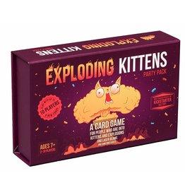 Exploding Kittens Exploding Kittens - Party pack (EN)