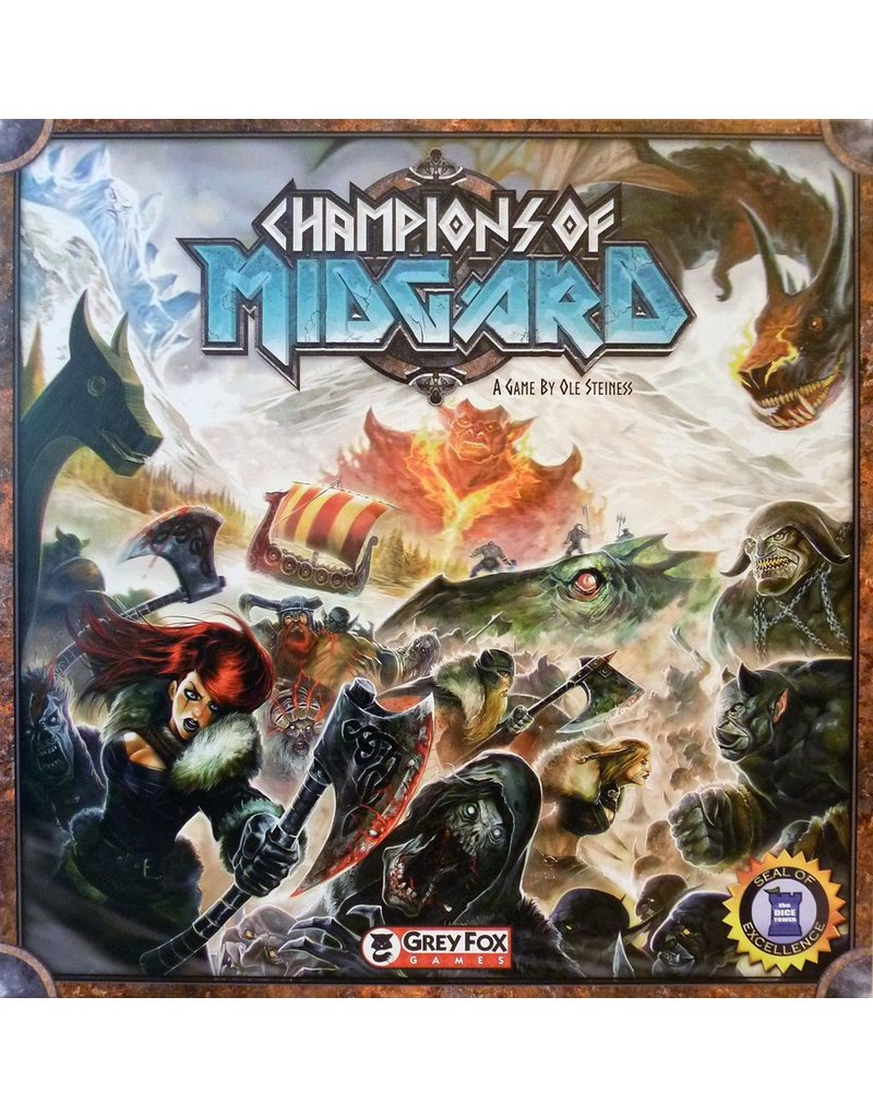 Grey Fox Games Champions of Midgard (EN)