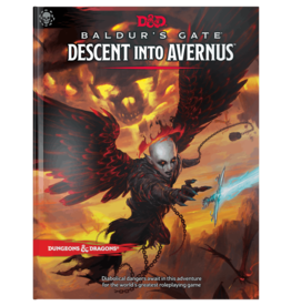 Wizards of the Coast DND RPG Baldur's Gate Descent Into Avernus HC