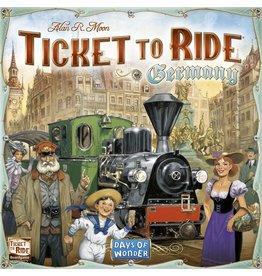 DAYS OF WONDER Ticket to Ride Germany (EN)