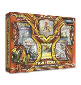 pokemon Pokemon Tapu Koko Figure Collection Box