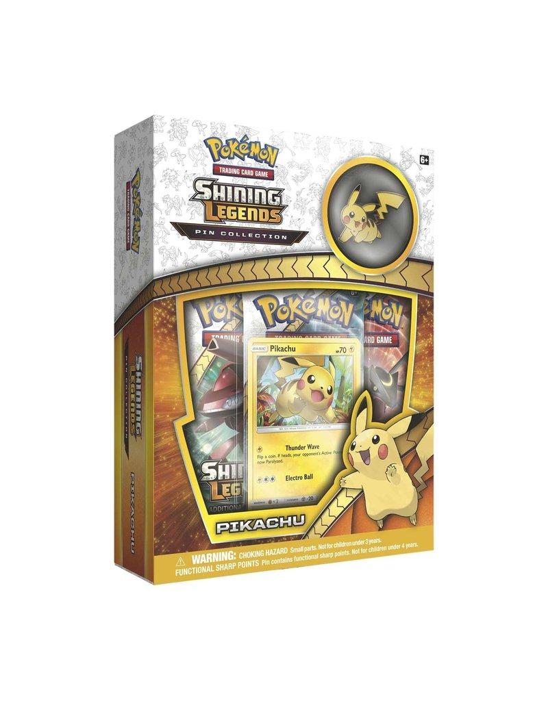 Pokemon Shining Legends Pin Box - Pikachu
