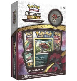 pokemon Pokemon Shining Legends Pin Box Zoroark