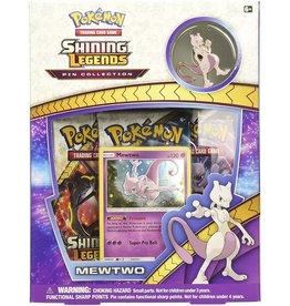 pokemon Pokemon Shining Legends Pin Box - Mewtwo