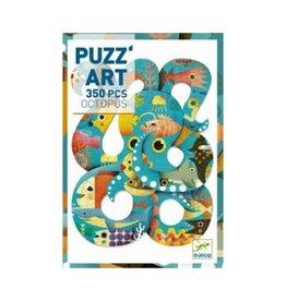 Djeco Puzzle 350mcx, Octopus, Puzz'art