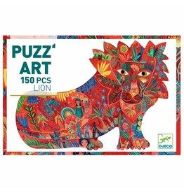 Djeco Puzzle 150mcx,  Lion, PuzzArt