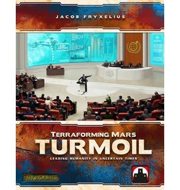 Stronghold Games jeu board game Terraforming Mars - Turmoil (EN) Retail Edition