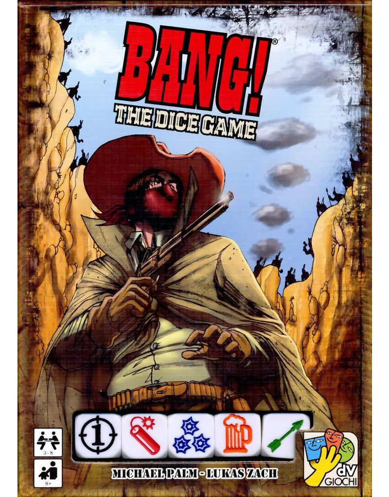 dV Giochi Bang! The Dice Game (EN)