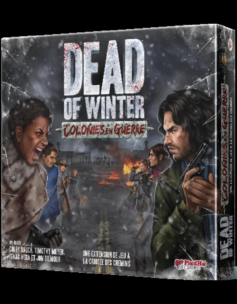 Plaid hat games Dead of Winter - Colonies en Guerre (FR)