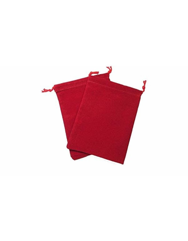 Chessex Grande pochette rouge - Red bag dice
