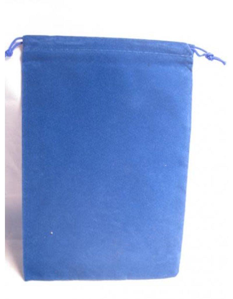 Chessex Grande pochette bleu royal - Blue dice bag