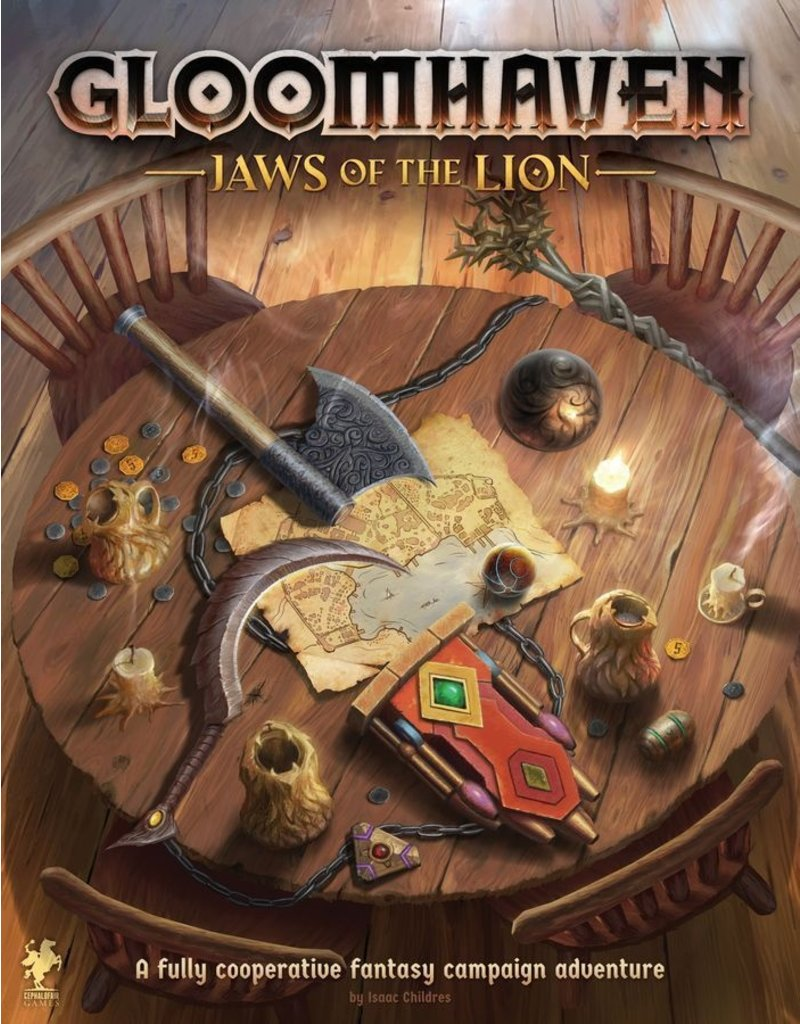 Cephalofair Games Gloomhaven - Jaws of the Lion (EN)