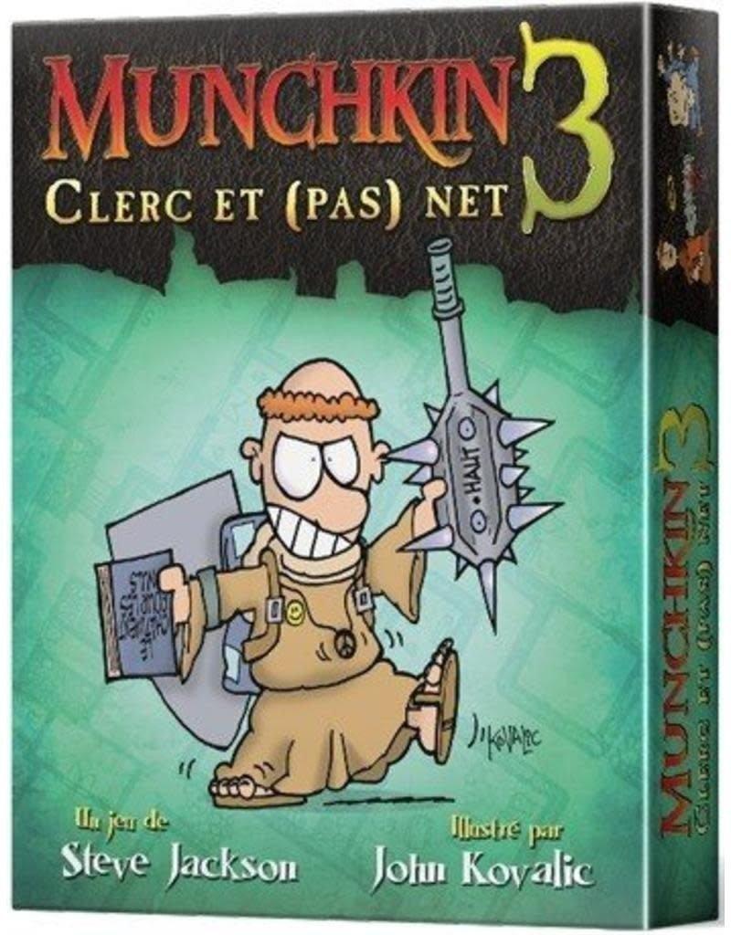 Edge Munchkin 3 - Clerc et (pas) net