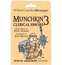 Steve Jackson Games Munchkin 3 - Clerical Errors (EN)