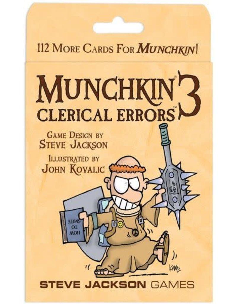 Munchkin 3 - Clerical Errors (EN)