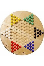 Wood Expressions Dames Chinoises - Chinese Checkers 7po Wood