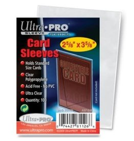 Ultra PRO Up Sleeves 100pack 2-5/8 x 3-5/8