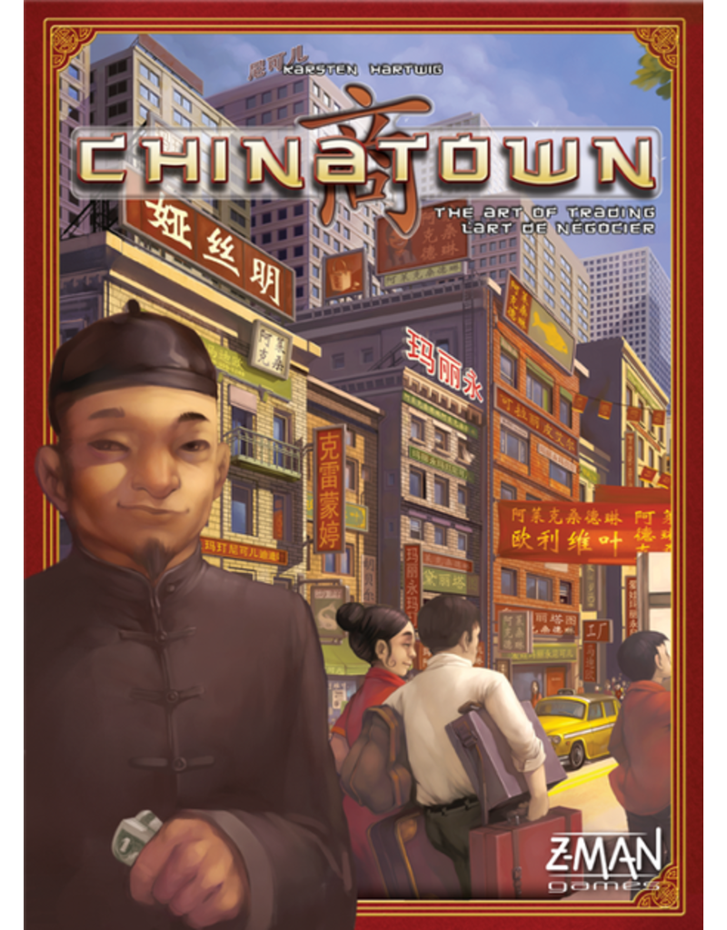 Z-man games Chinatown (FR/EN)