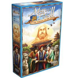 Z-man games Marco Polo II - In the Service of the Khan (EN) PRECOMMANDE