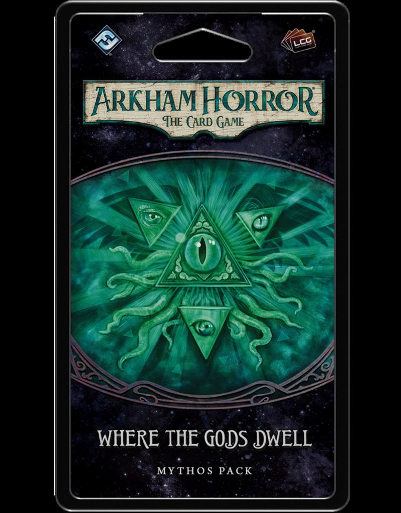 Fantasy Flight Games Arkham Horror LCG - Where the Gods Dwell (EN)