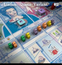 Eagle-Gryphon Games Lisboa - Queen Variant (EN) PRECOMMANDE