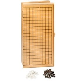 "Wood Expressions Go Set, Wood 12"" Folding, Plastic Stones"
