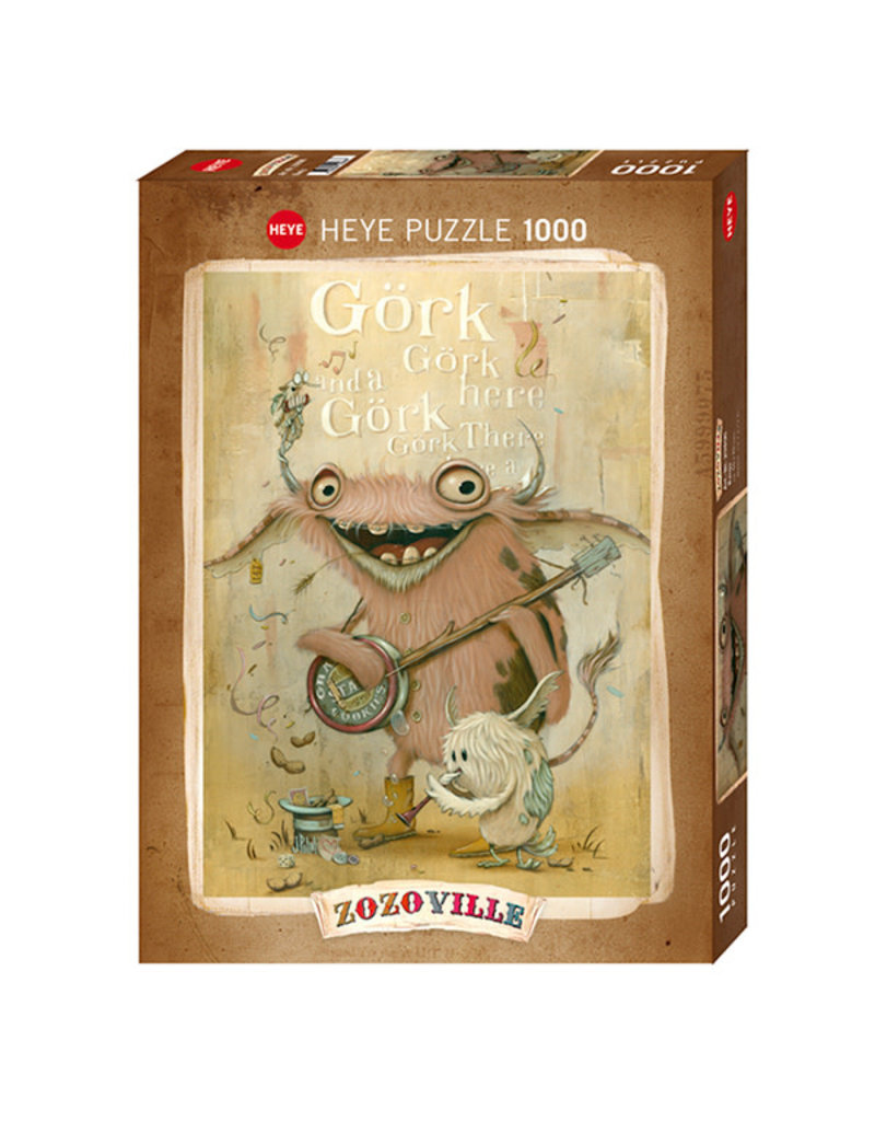 Heye Puzzle 1000mcx, Banjo, Zozoville