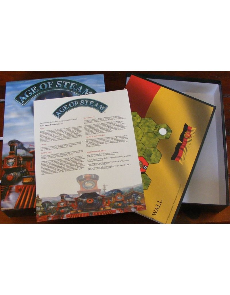 Eagle-Gryphon Games Age of Steam: Moon and Berlin Wall expansion