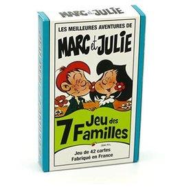 France Cartes Marc et Julie - Jeu des 7 Familles (FR)