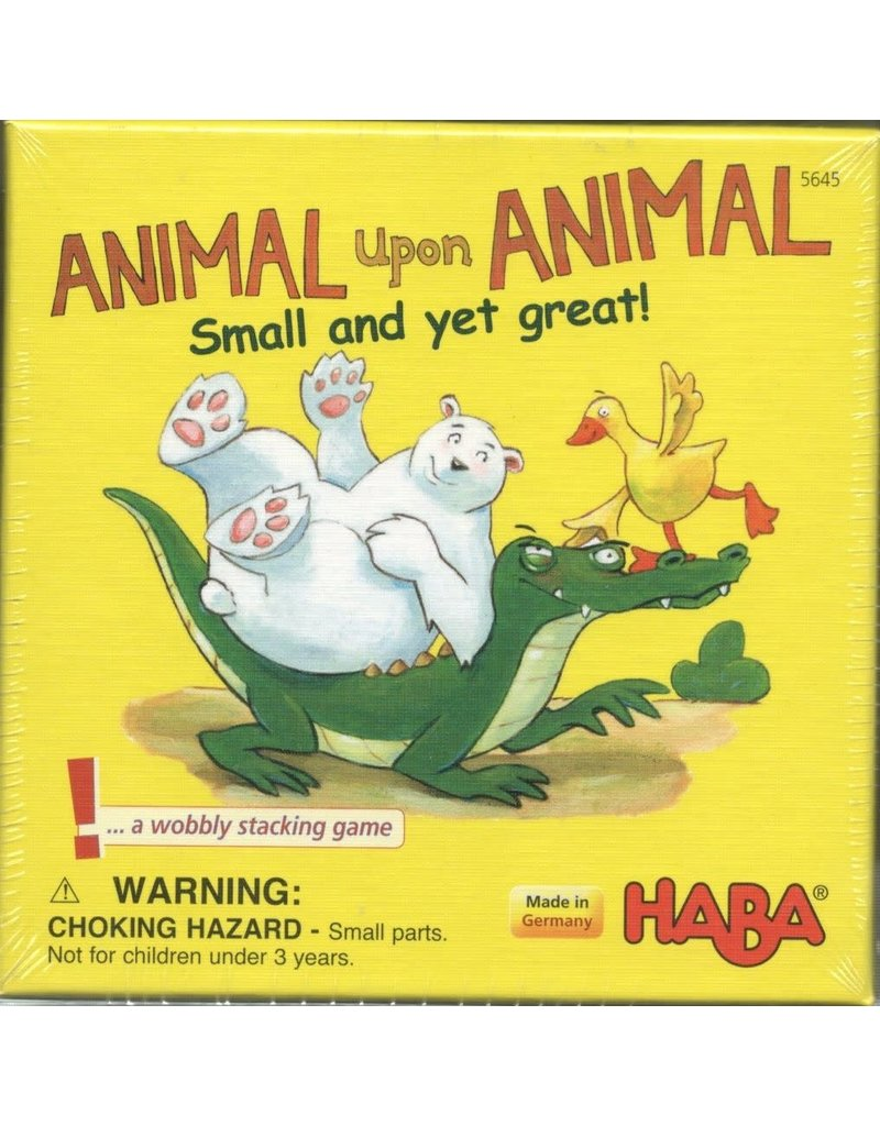 Haba Animal Upon Animal - Small and yet Great! (EN)